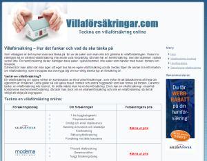 Villaförsäkringar.com